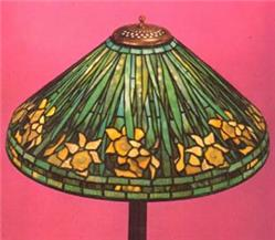 Tiffany Studios 22-inch Daffodil Reproduction Lampshade Package