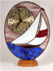 Stained Glass Clock Kits from Clarity Glass Design