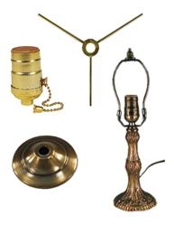 Lampshade making stuff whittemore durgin stained glass supplies lamp bases hardware and electrical parts mozeypictures