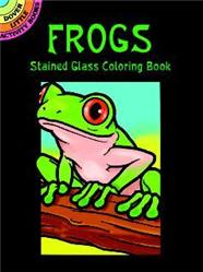 Little Stained Glass Coloring Books