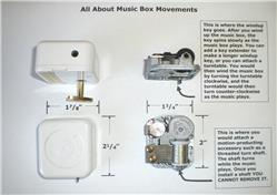 Click to read more about our music boxes...
