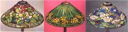 Save on Three Replicas of Museum Quality Tiffany Lampshade Packages