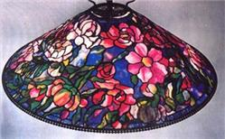 "Tiffany Studios 22"" Hanging Bouquet Lampshade Reproduction Package"
