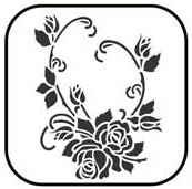 Peel 'N' Etch Floral 1 (a.k.a. Opposable Vines)