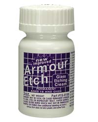 Armour Etch Glass Etching Cream - 3 oz container