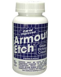 Armour Etching Cream - 10 oz container