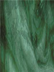 Spectrum Deep Olive on Sea Green Waterglass Fusible (422-1WF)