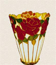 BradleyBase Tall Rose Torchiere Pattern (TOR-3)