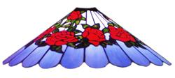 Belted Rose Lampshade Pattern (LB22-1)
