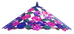 BradleyBase Morning Glory Lampshade Pattern (LB22-13)