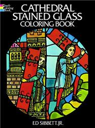 Cathedral Stained Glass Coloring Book