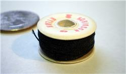 Black Nylon Thread, 33 yd roll