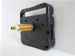 "Compact Quartz Clock Movement, 3/4"" Shaft, No Sweep"