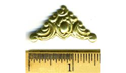Smaller Stamped Brass Corner