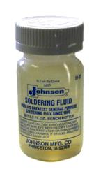 Johnson's Liquid Soldering Flux, 3.5 oz.