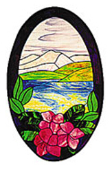 Carolyn Kyle Stained Glass Pattern - Nature's Beauty (CKE-12)