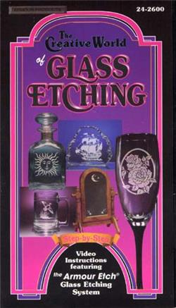 Etching Glass Video (VHS)