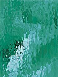 Spectrum Teal Green Waterglass Fusible (523-2WF)