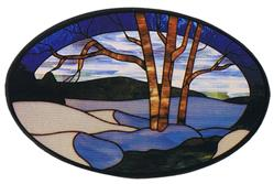 Carolyn Kyle Stained Glass Pattern -  Winter (CKE-32)