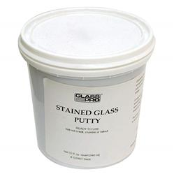 Glasspro Black Putty Quart