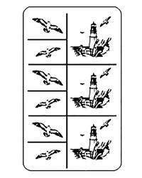 Rub 'N' Etch Lighthouse